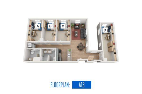 Floorplan: A13