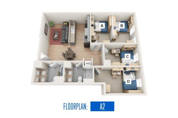 Floorplan: A2