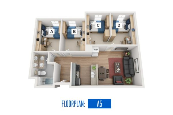 Floorplan: A5